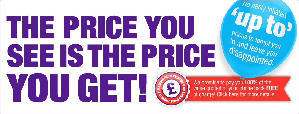 The price you see is the price you get!
